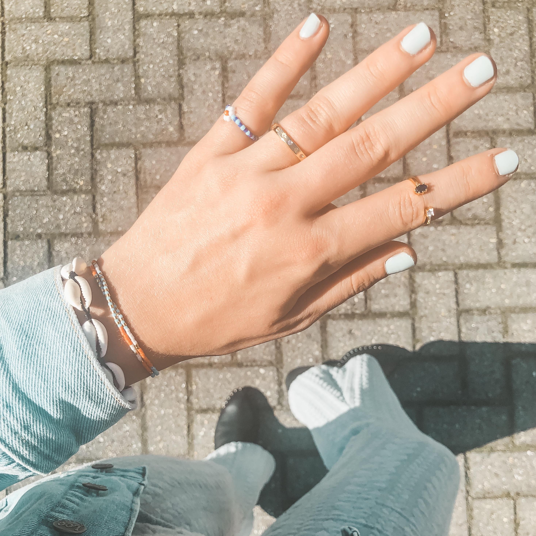 Shell bracelet black